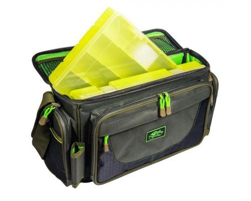 Tramp сумка рыболовная с пластиковыми коробками (2шт)