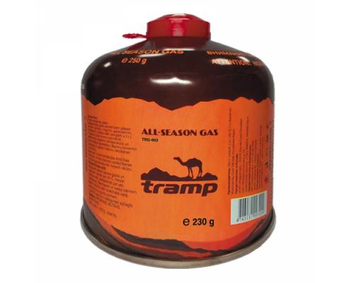 Газовый баллон 230 гр резьба TRG-003 Tramp
