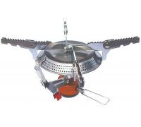 Горелка туристическая складная TRG-043 (сталь, алюминий) Tramp
