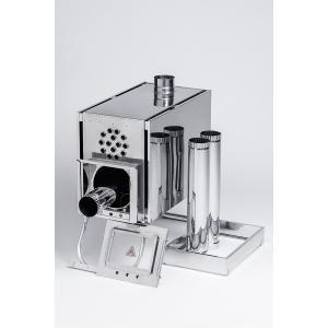 Печь-камин ИНВЕНТ со встроенным теплообменником
