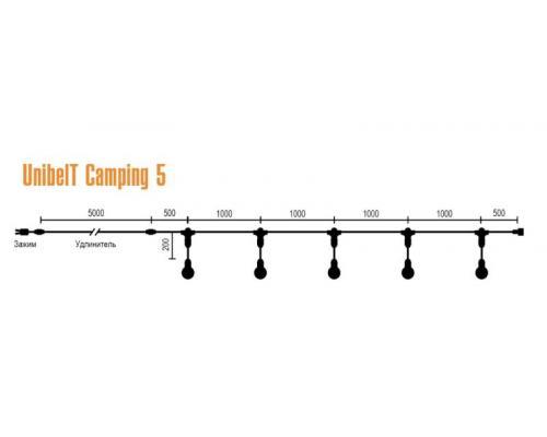 Система освещения UnibelT Camping 5