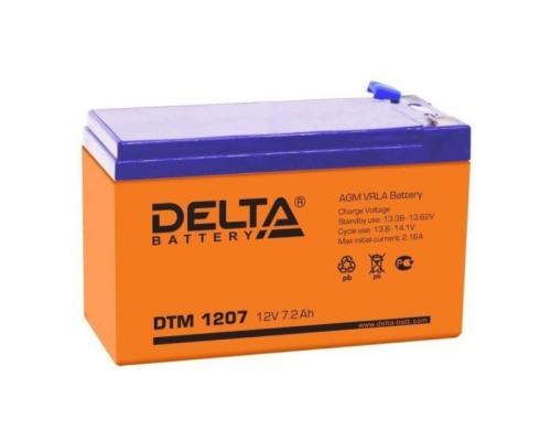 Аккумуляторная батарея Delta DTM 1207 (12V 7Ah)