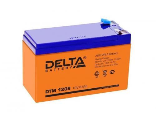 Аккумуляторная батарея Delta DTM 1209 (12V 9Ah)