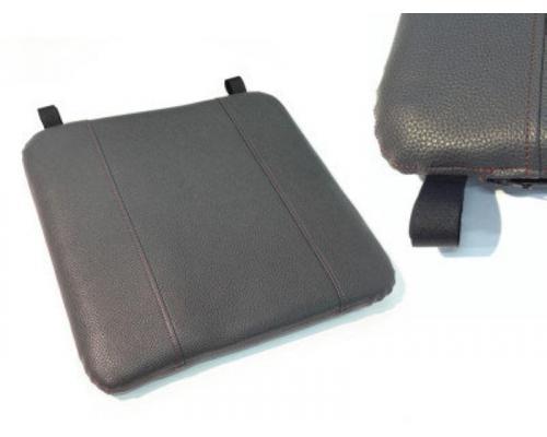 Мягкое сиденье Ондатра из искусственной кожи