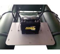 Жесткий багажник для складного катамарана Ондатра