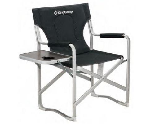King Camp 3821 Delux Director Chair кресло скл. алюм