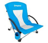King Camp 3841 Portable Low Sling Chair кресло скл. cталь