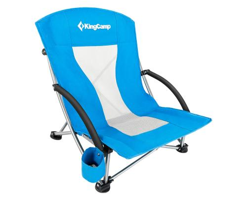 King Camp 3841 Portable Low Sling Chair кресло скл. cталь