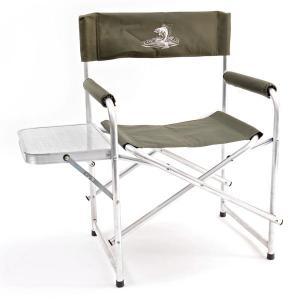 Кресло складное Кедр Базовый вариант Алюминий со столиком