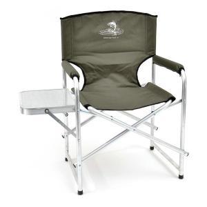 Кресло складное Кедр Алюминий со столиком