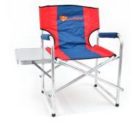 Кресло складное Кедр SuperMax Алюминий со столиком