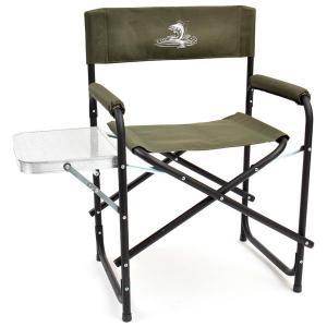 Кресло складное Кедр Базовый вариант Сталь со столиком