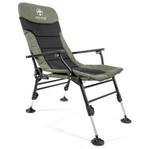 Кресло карповое Кедр с подлокотниками