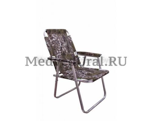 Кресло складное алюминиевое, вариант № 1 Медведь