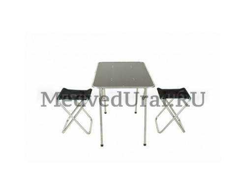 Набор туристической мебели (стол + 4 стула) Медведь