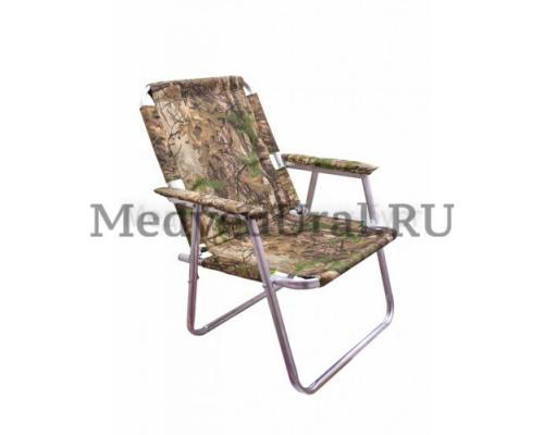 Кресло складное алюминиевое, вариант № 2 Медведь