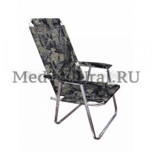 Кресло складное алюминиевое, вариант № 3 Медведь