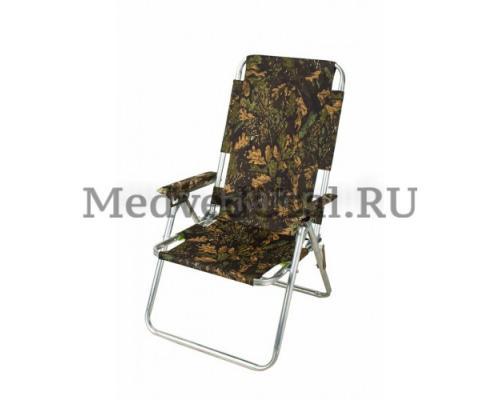 Кресло-шезлонг складное, вариант № 5 Медведь