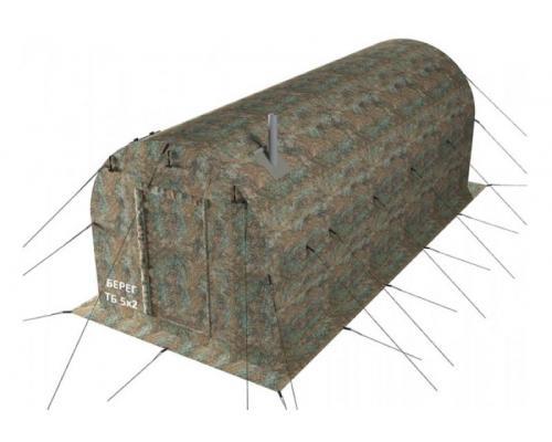 Тамбур-баня Берег Б 5х2 к палаткам серии УП