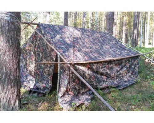 Бескаркасная палатка Берег Гео-6