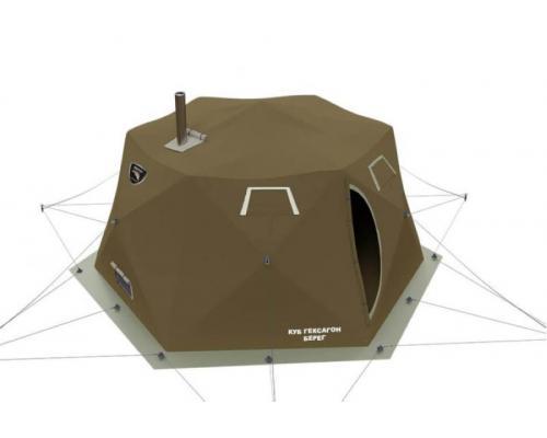 Палатка-шатер Берег Куб Гексагон