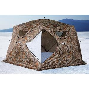 Палатка HIGASHI Camo Yurta Pro