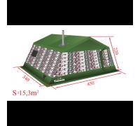 Армейская палатка Tentoria АТ2-16