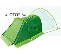 Лотос-тент Лотос 5 Summer (Спальная палатка)