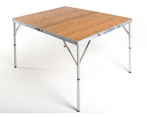 Кемпинговый стол Maverick Bamboo с бамбуковой столешницей